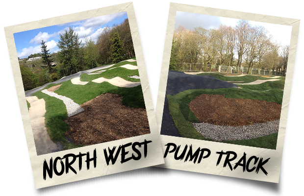 Dirtworks BMX North West Pump Track Polaroid