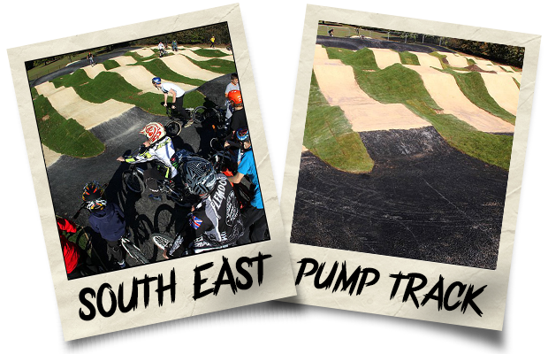 Dirtworks BMX South East Pump Track Polaroid
