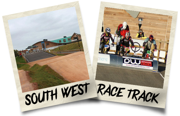 Dirtworks BMX South West Race Track Polaroid
